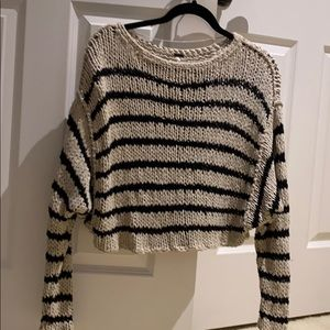 Striped FREE PEOPLE sweater